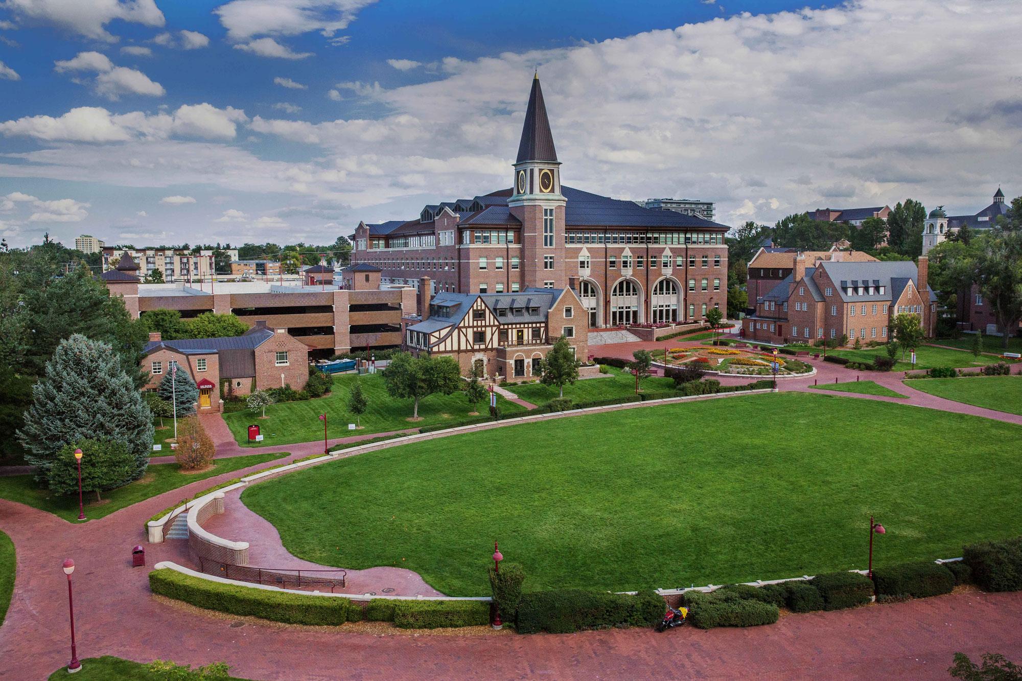 <p>The University of Denver campus.</p>