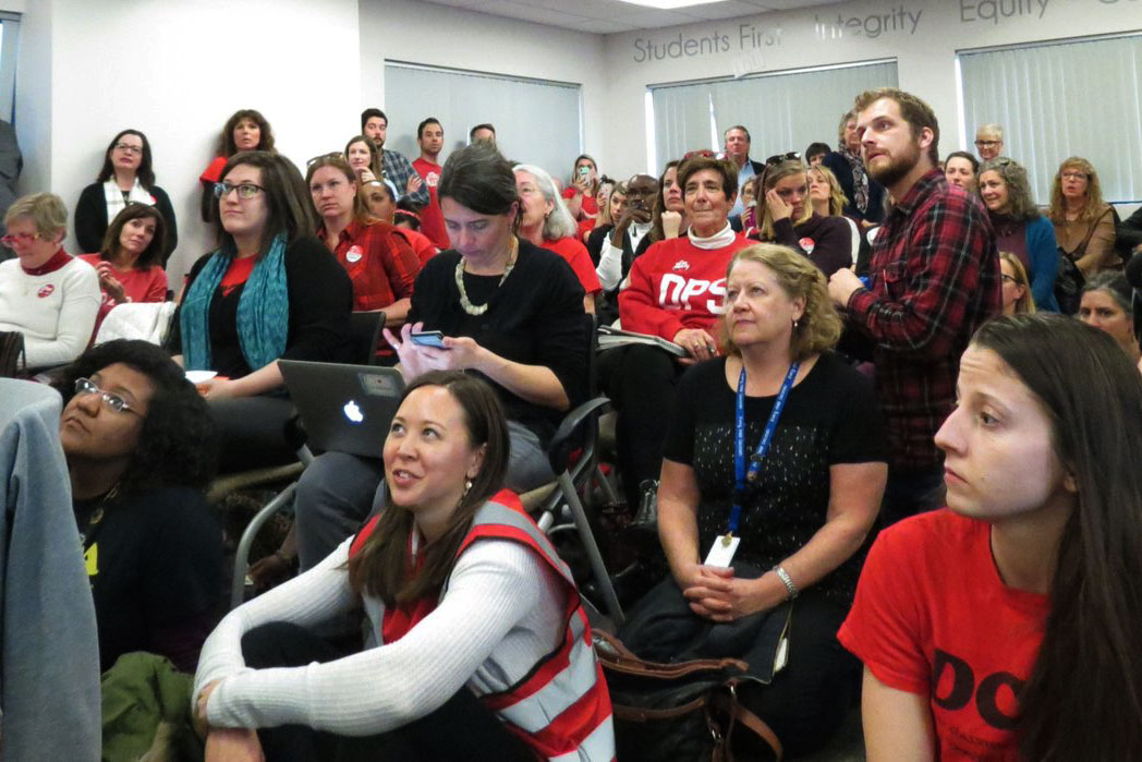 Photo: DPS Teachers Bargaining January 17