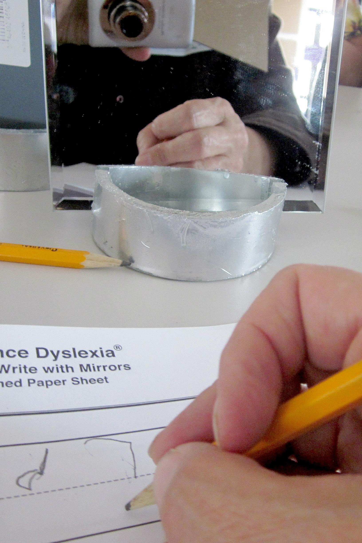 Photo: Dyslexia Camp, Mirror