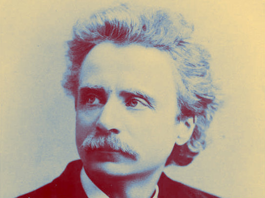 Photo: Edvard Grieg duotone for applause article