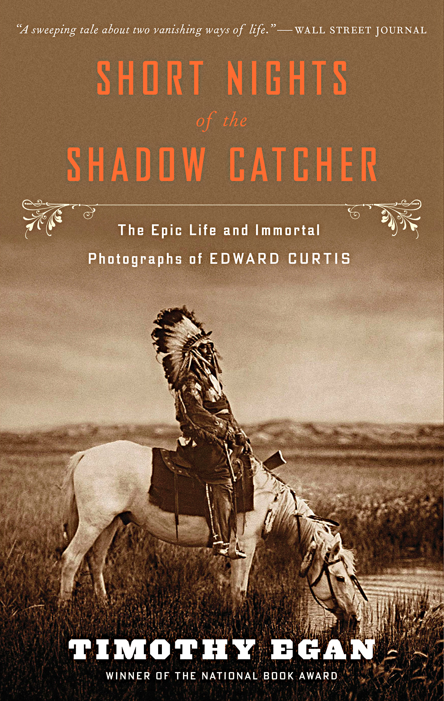 Photo: 'Short Nights of the Shadow Catcher' Book Cover