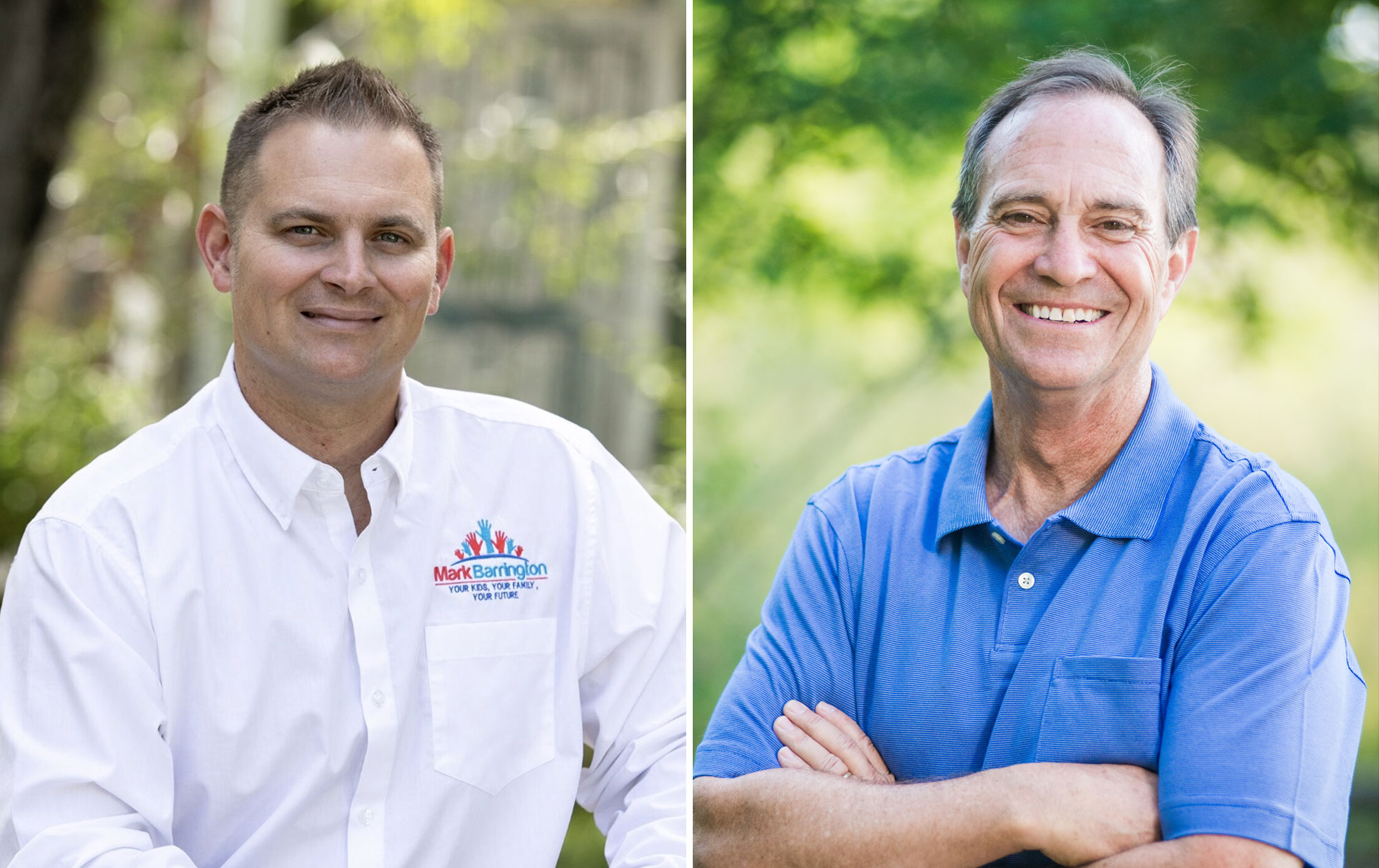 Photo: Election 2018 Mike Barrington & Ed Perlmutter