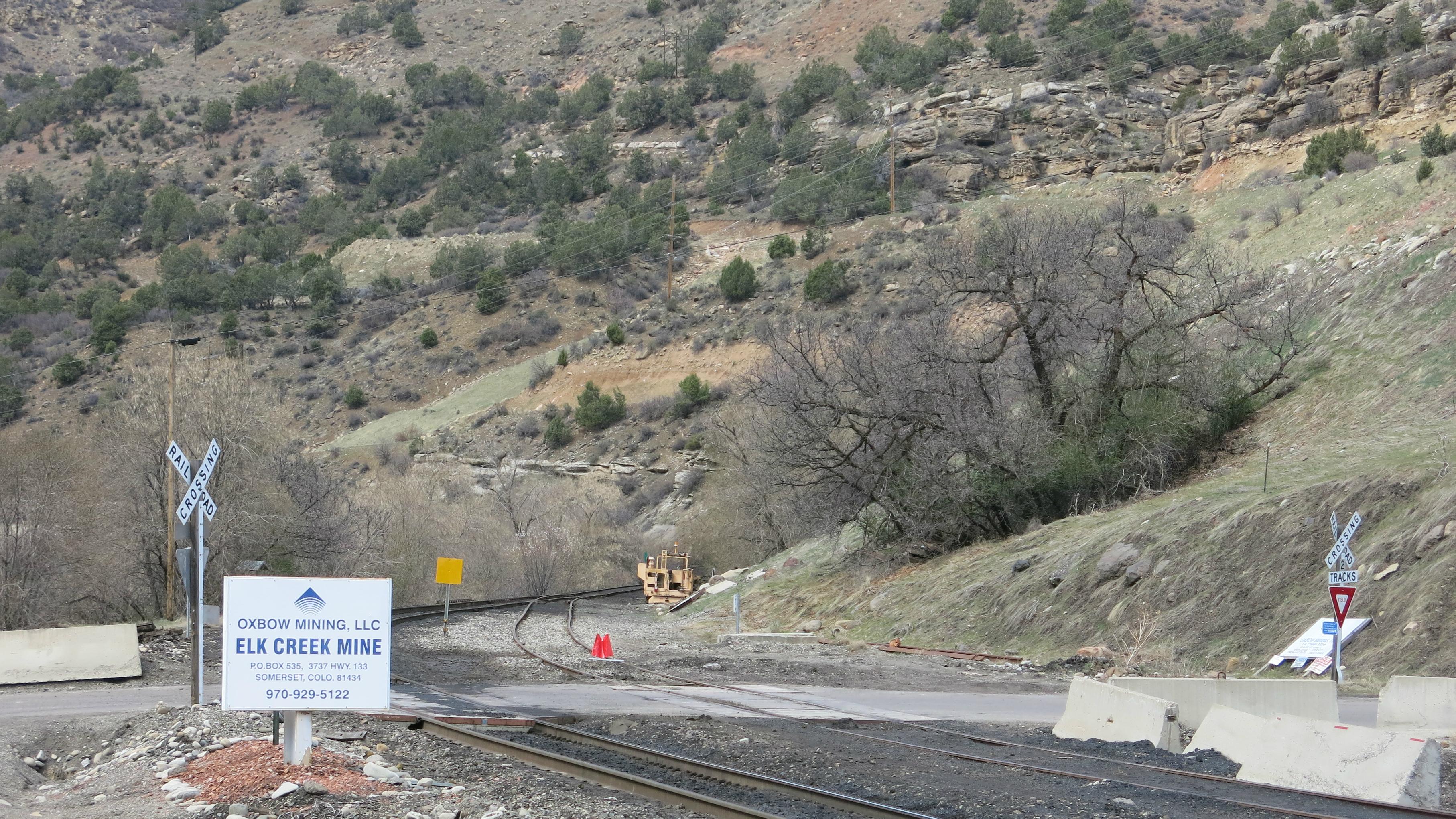 Photo: Elk Creek Mine Oxbow coal mine