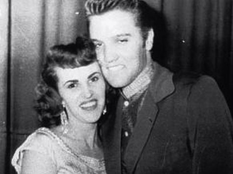 photo: Elvis and Wanda Jackson