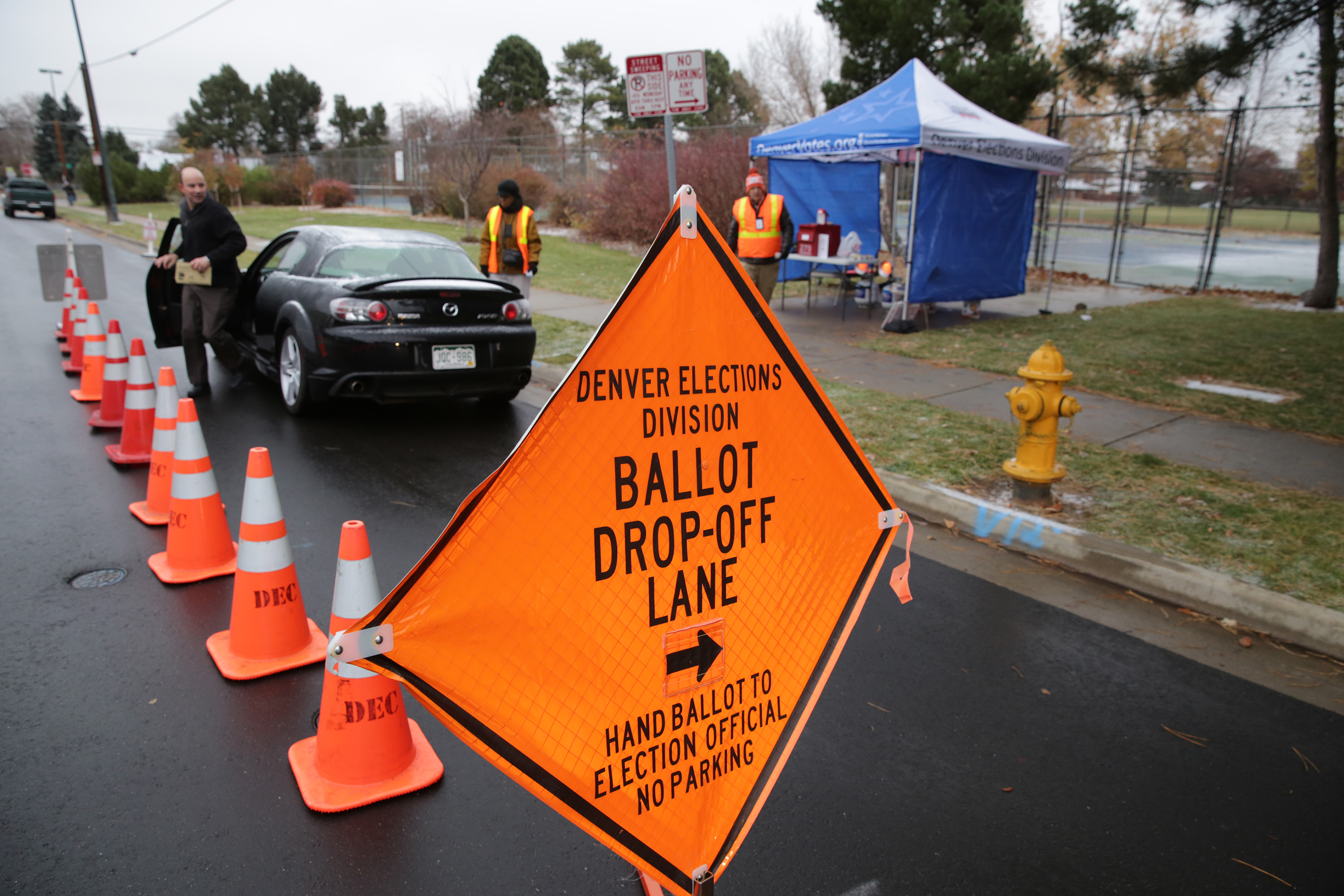 Photo: Election Day 2017 Park Hill Denver Drop Off