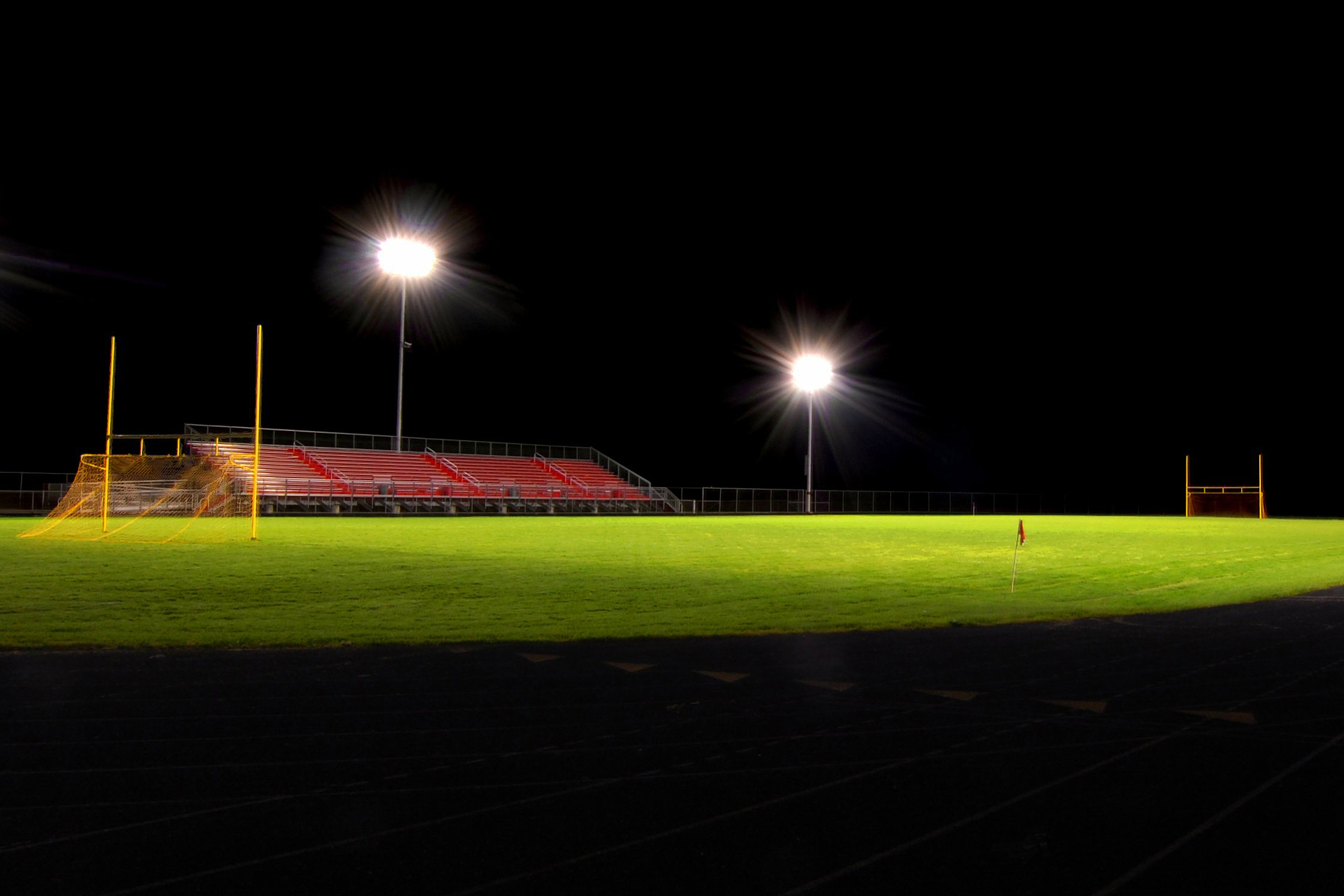 Photo: Empty Football Field (Flickr)