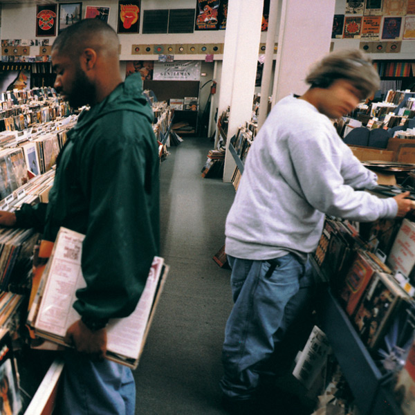 photo: DJ Shadow album cover