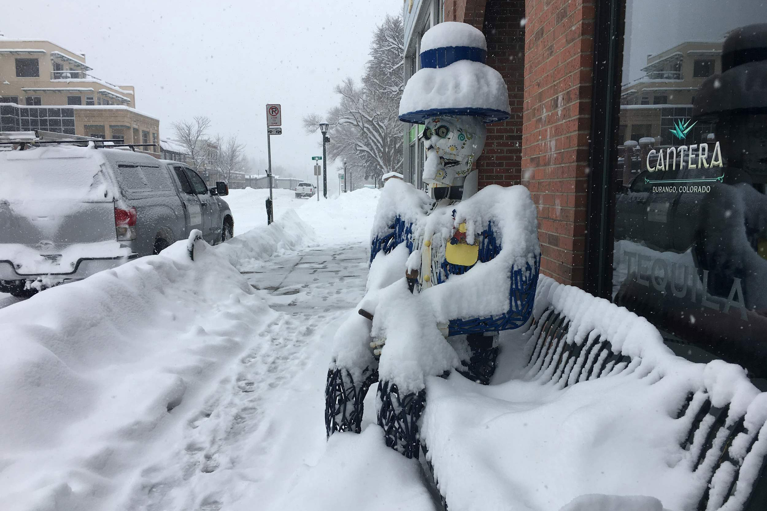 Photo: Feb. 2019 Durango Snowstorm | DO NOT REUSE - Courtesy Durango Herald
