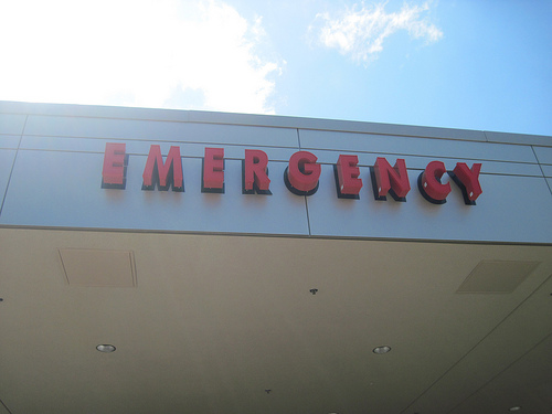 Photo: Emergency room stock image