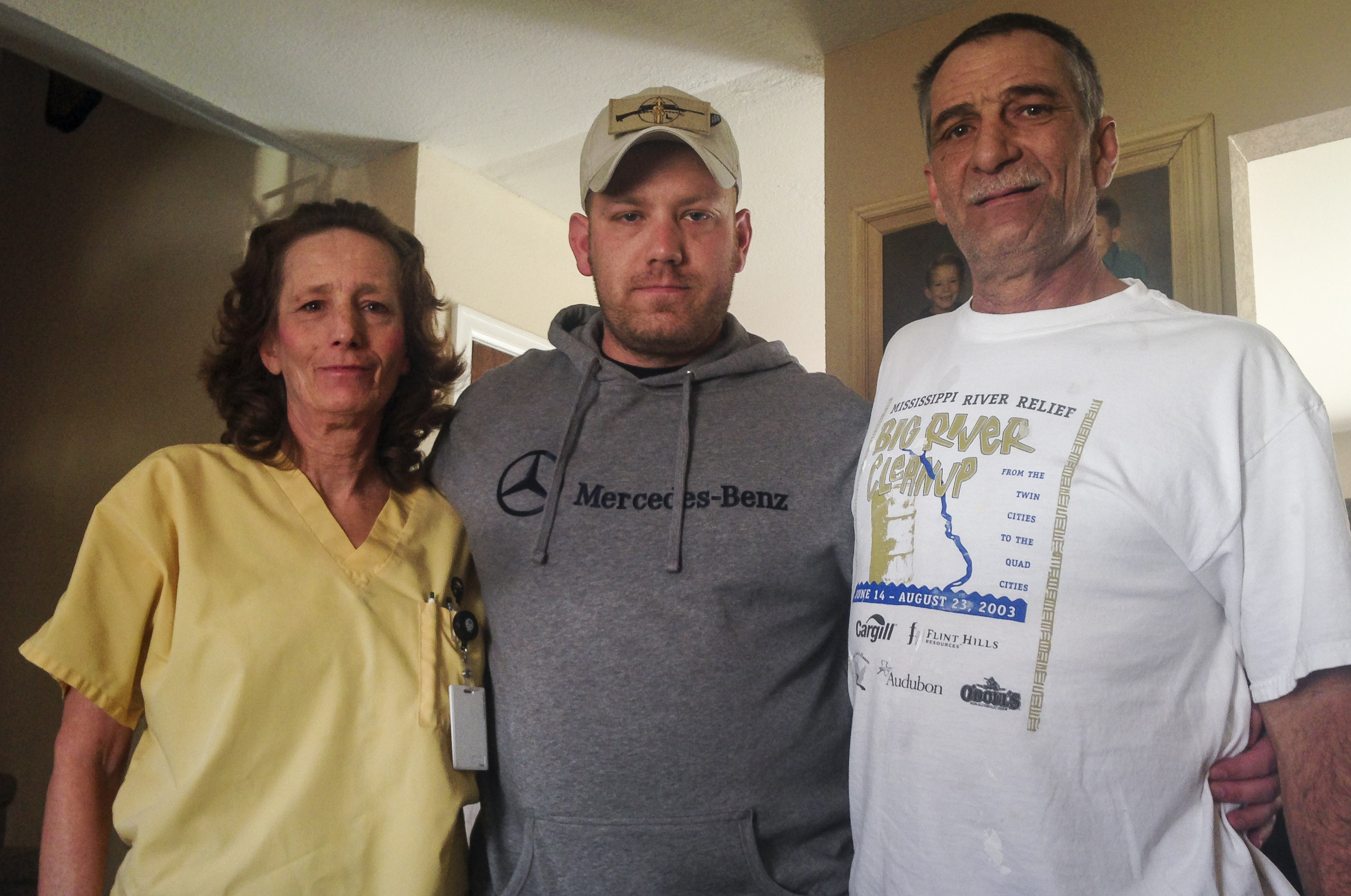 Photo: PTSD Fort Carson 5 | Eric James and family