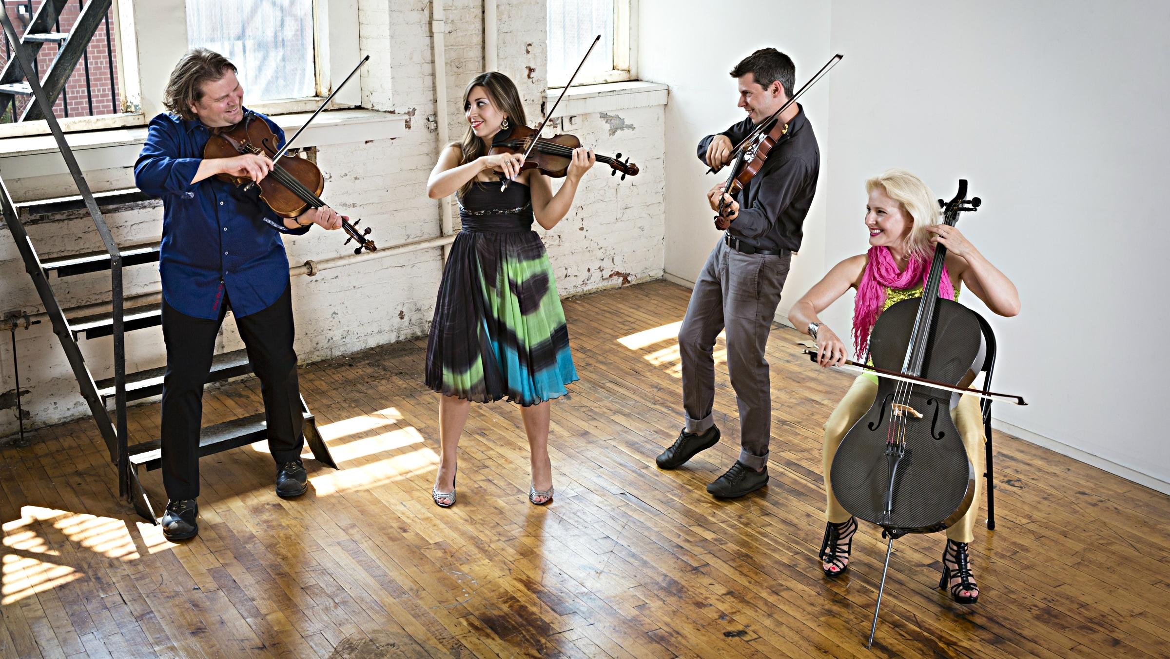 Photo: ETHEL String Quartet
