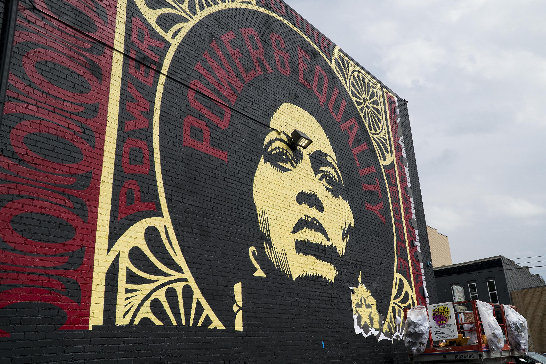 Photo: Crush Walls Urban Art RiNo Denver Fairey 2