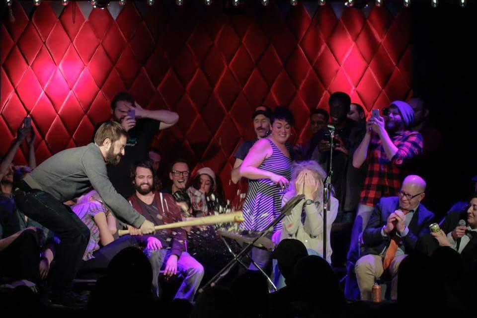 Photo: Comic Adam Cayton-Holland At 50 First Jokes Denver 2015