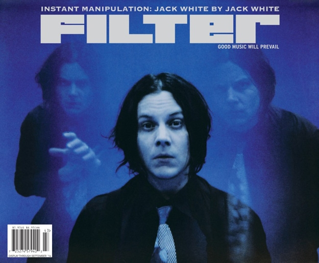 photo: Filter magazine Jack White cover