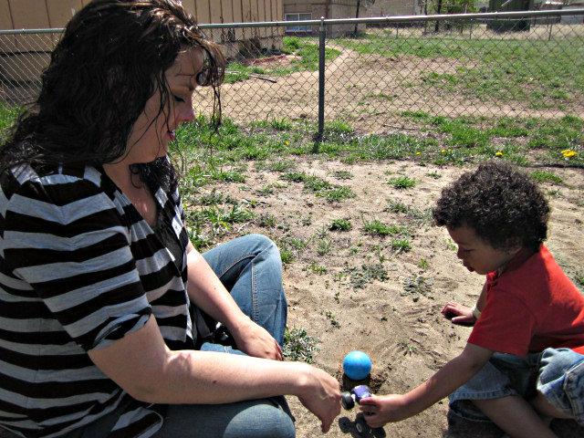 Photo: Katrina Haselgren and her son Giovanni, stress and the brain