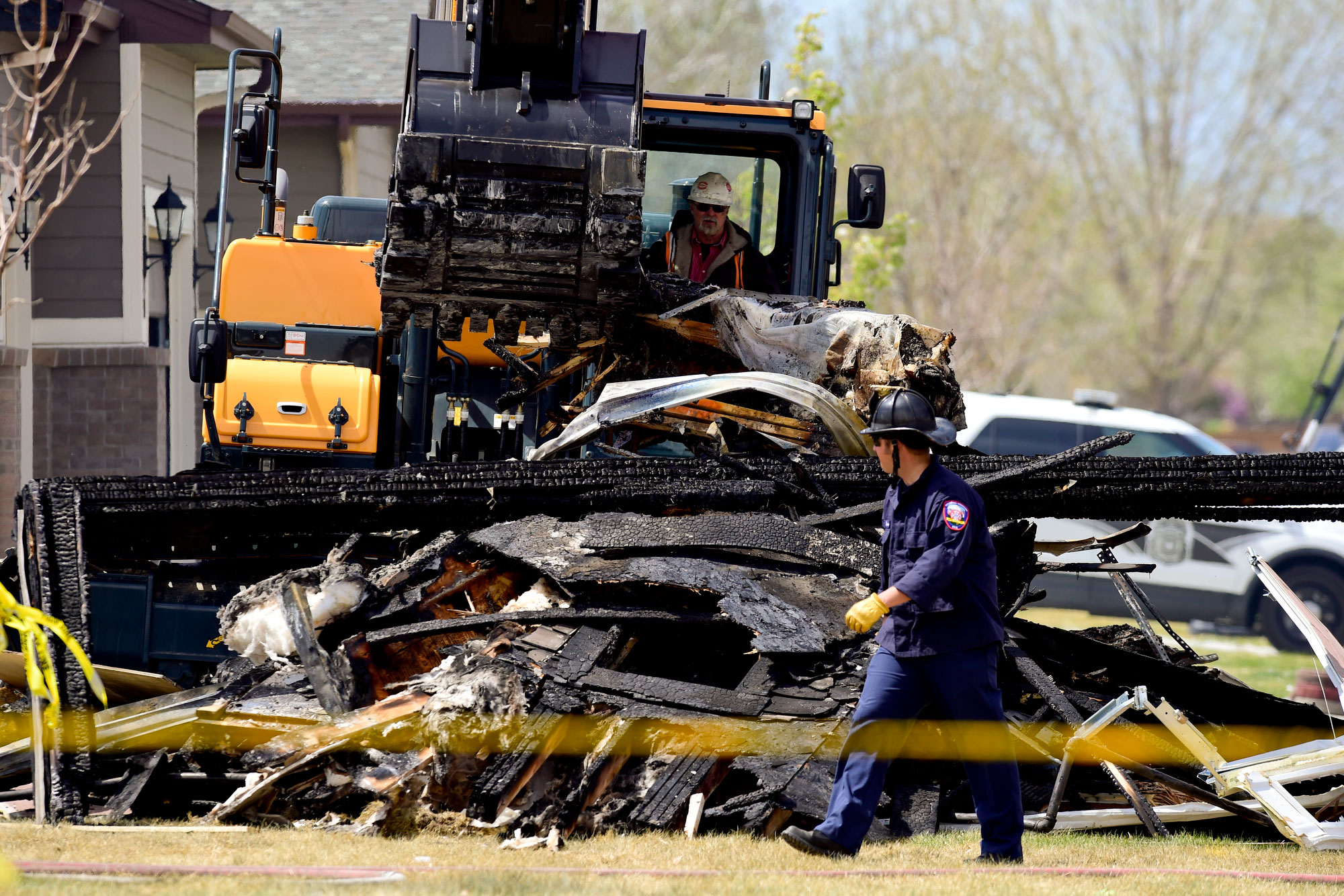 Photo: Firestone House Explosion - TimesCall