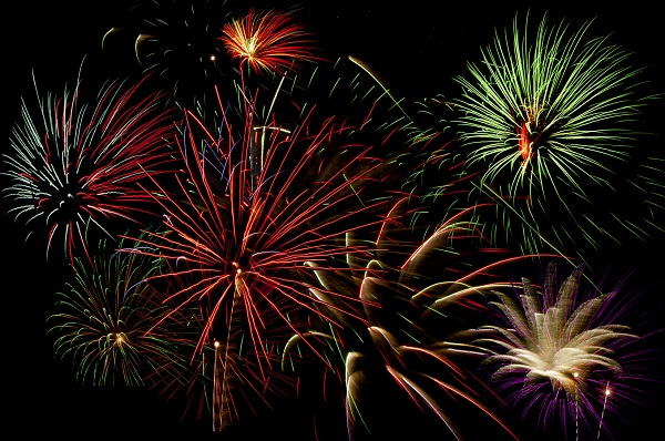 Photo: New Year's fireworks (stock)