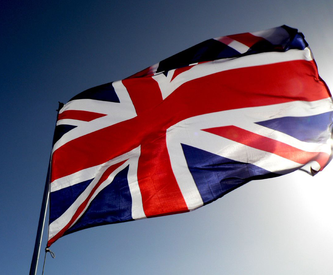 photo: British Invasion flag