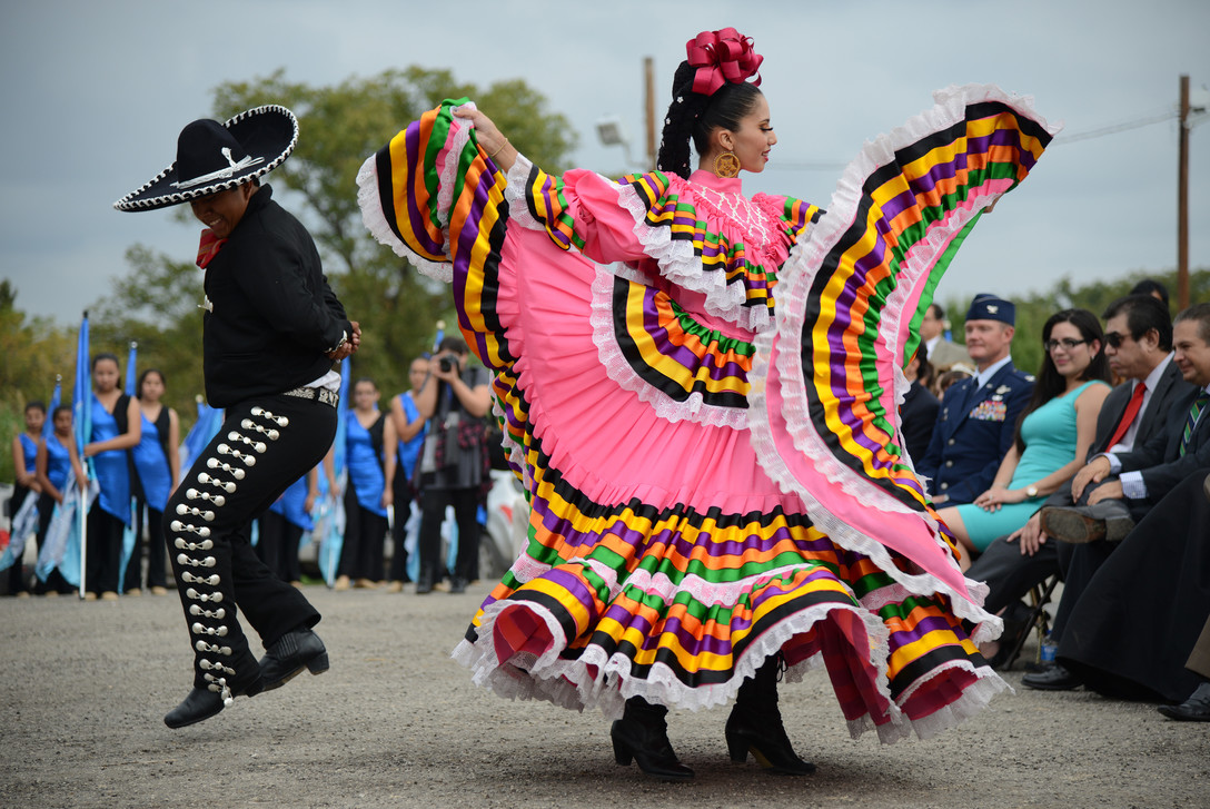 Photo: Folklorico dancers -- file