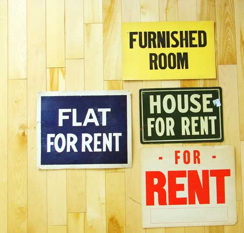 Photo: For Rent Sign