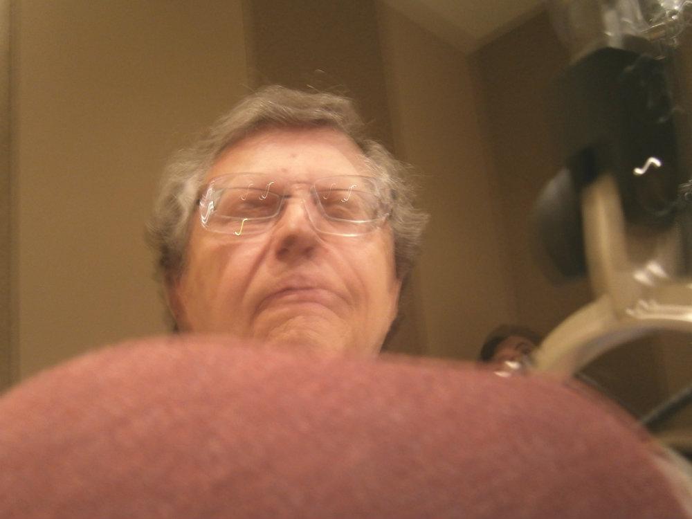 Photo: Charley Samson's first selfie