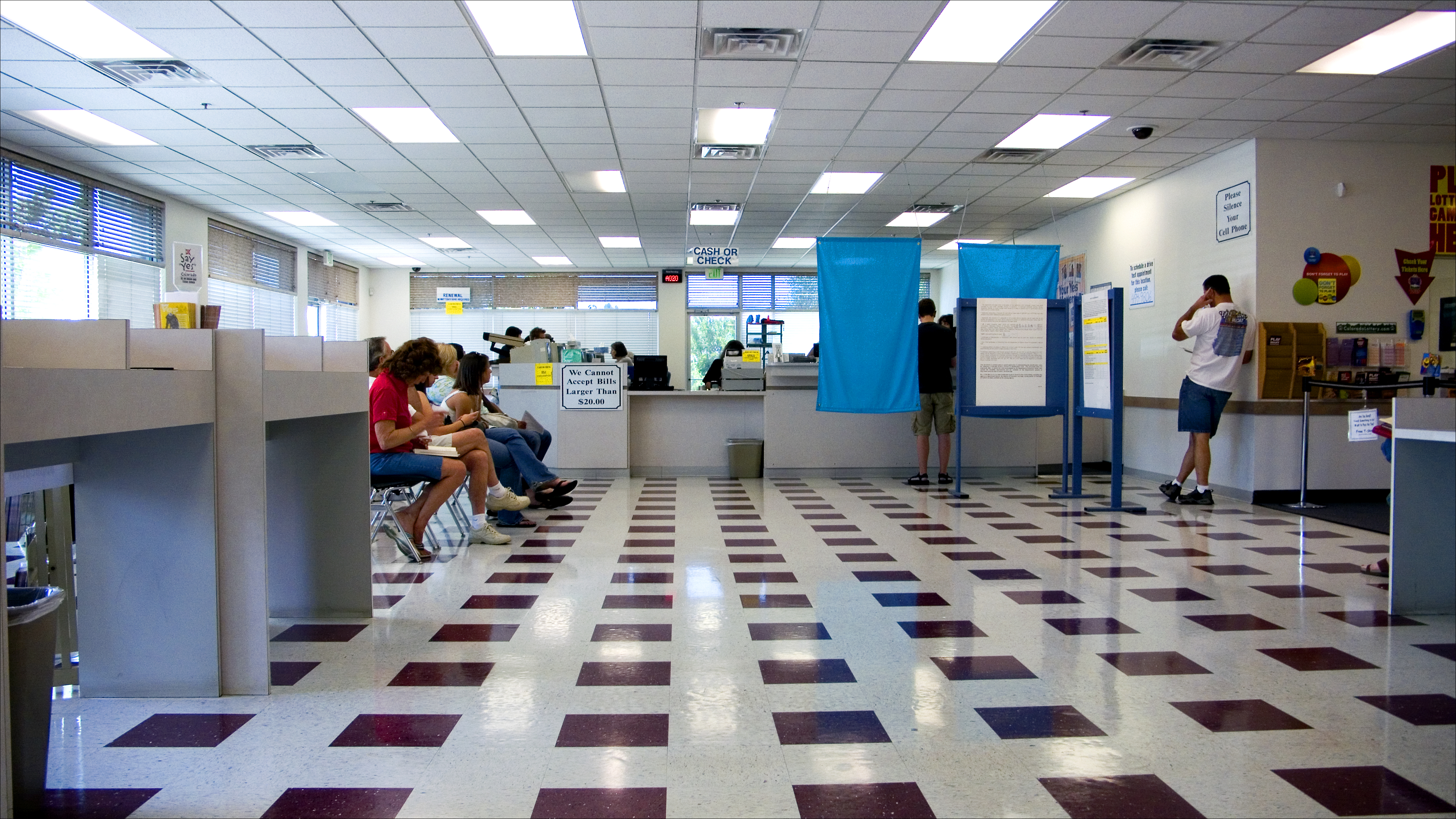 Photo: Fort Collins driver's license office