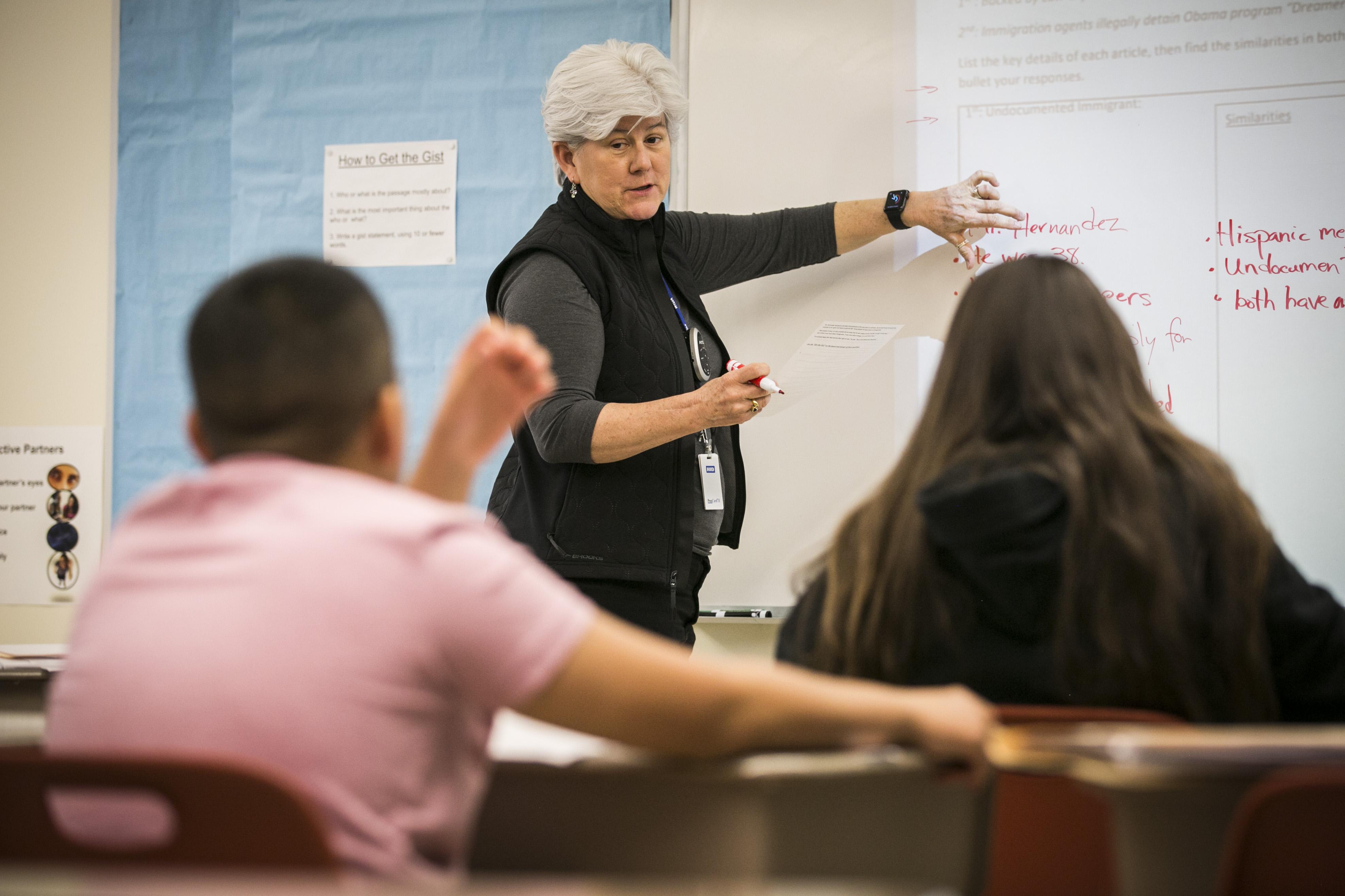 Photo: Fort Logan Northgate student 3 | Teacher