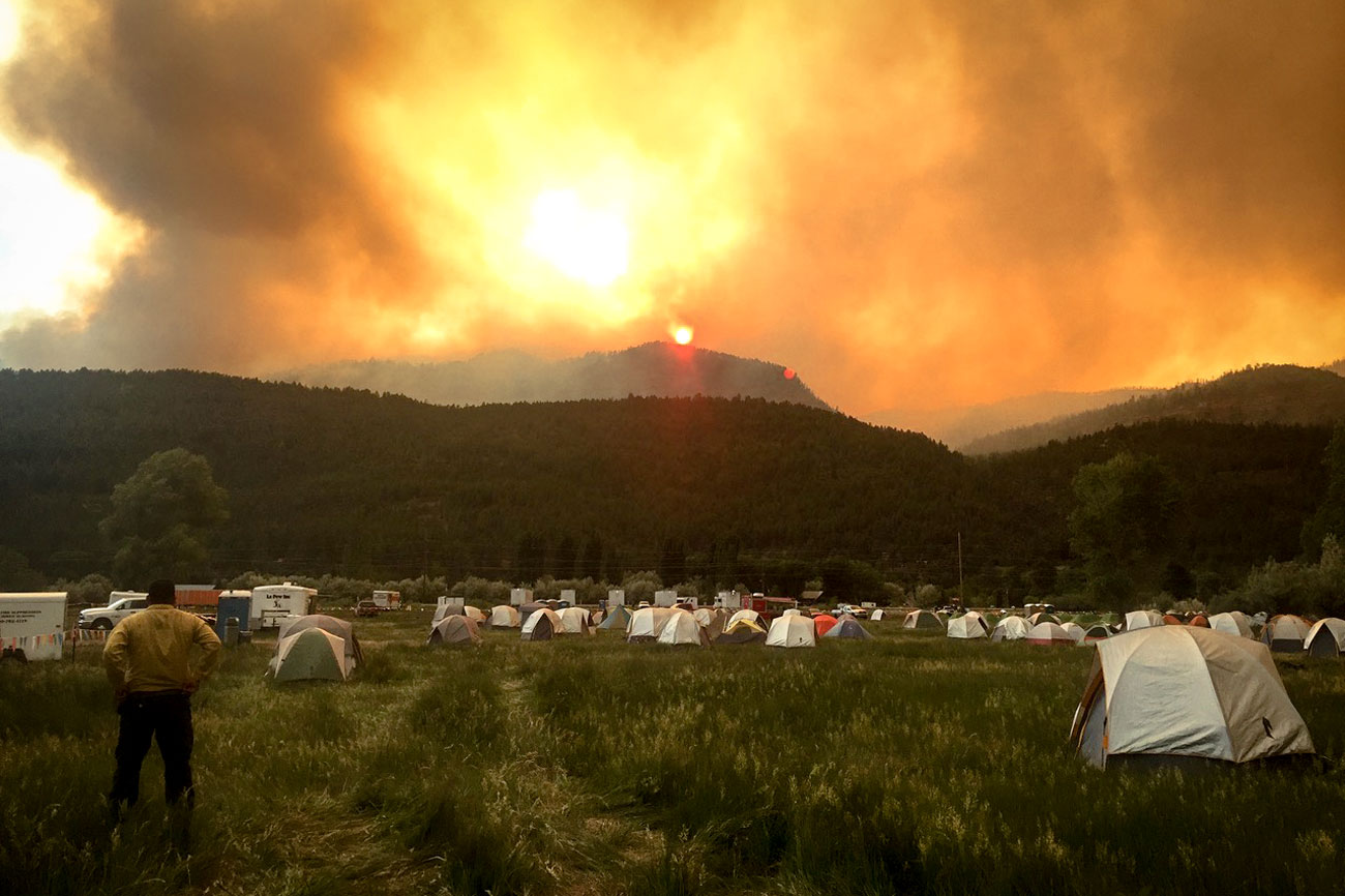 Photo: 416 Fire | Durango Firefighter Base Camp — DBoyce