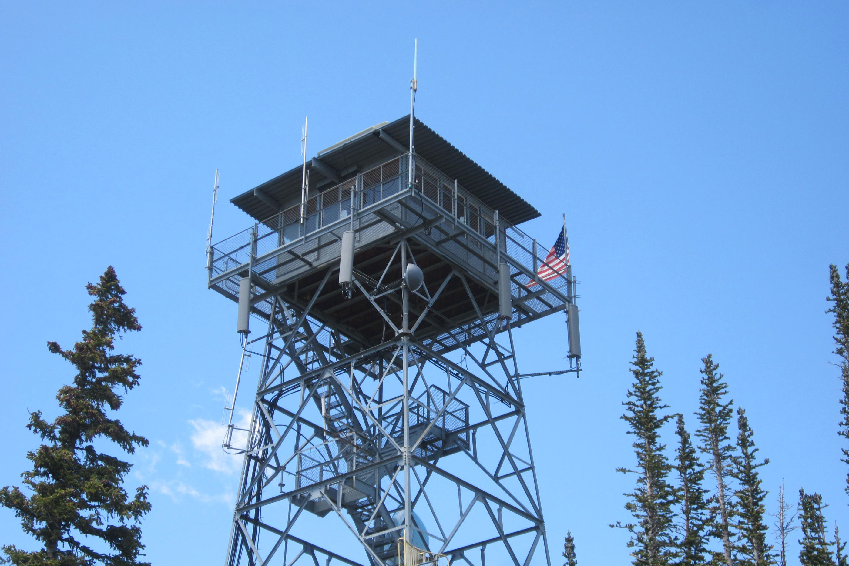 Photo: Deadman Lookout | Roosevelt Nat'l Forest - Courtesy