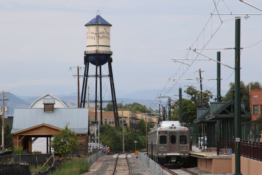 Photo: G Line Olde Town Arvada Station - Courtesy