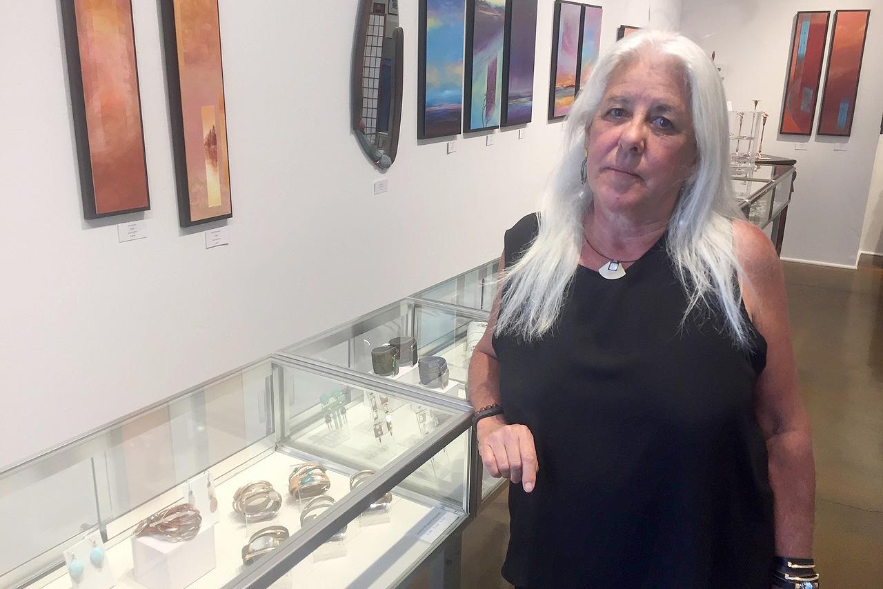 Photo: Karyn Gabaldon Gallery Owner Durango Homeless