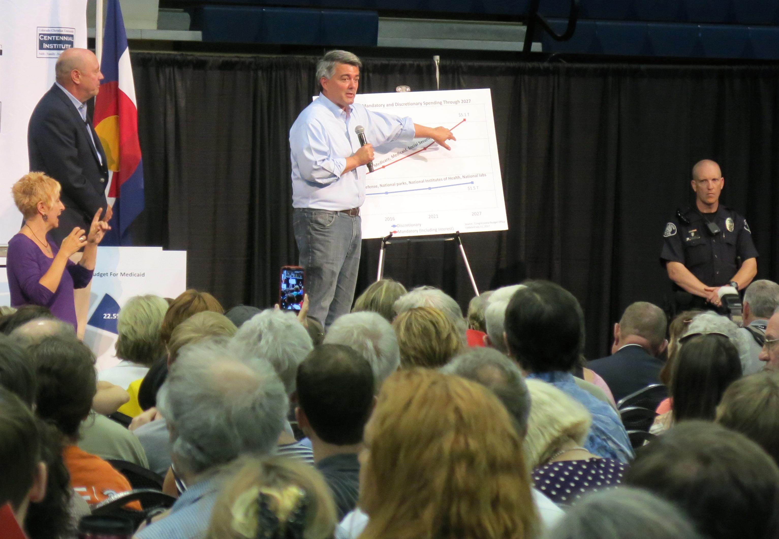 Photo: Sen. Cory Gardner in Lakewood 1