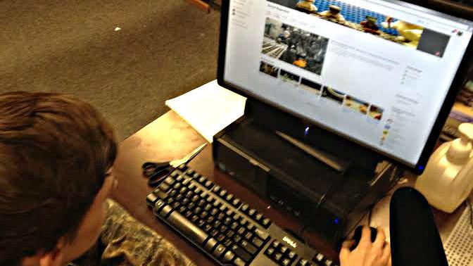 Photo: Garrett's lego website