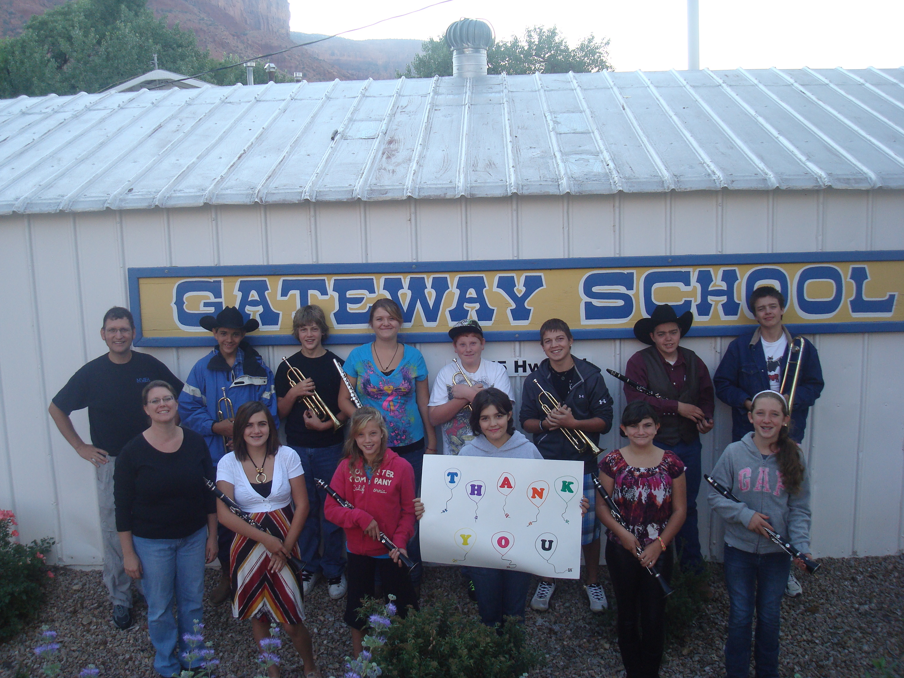 Gateway School Instrument Drive