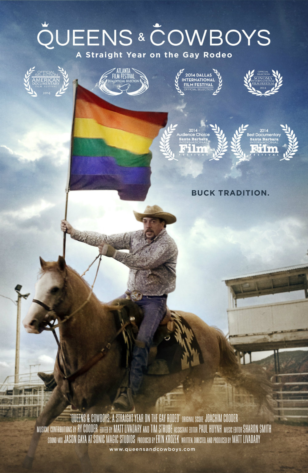 Photo: Gay rodeo film poster small