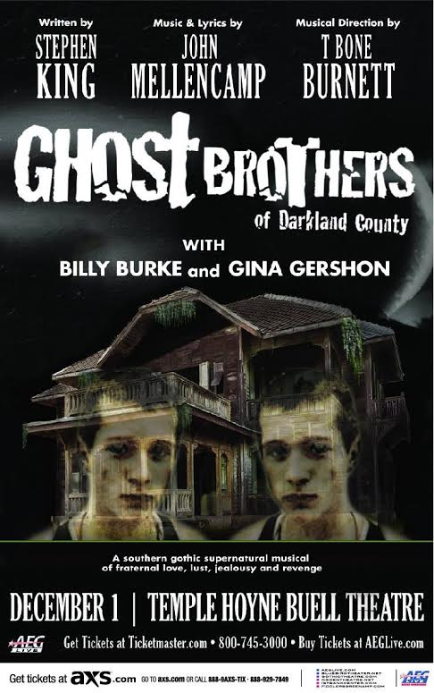 Photo: Ghost Brothers of Darkland County poster