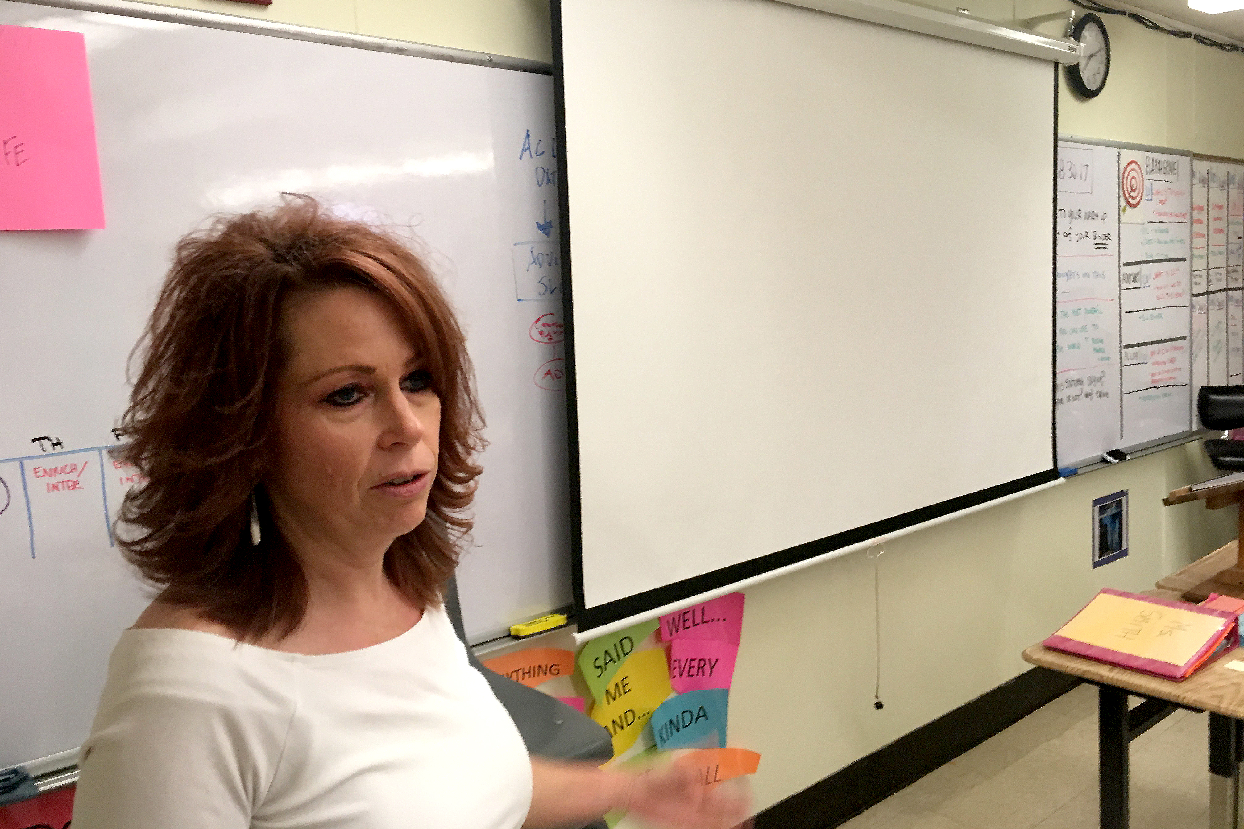 Photo: Grand Junction Schools, Orchard Mesa Middle School teacher Tanya Smith (Sherry)