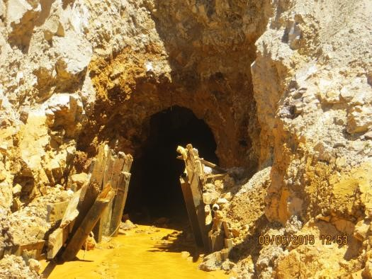 Photo: Gold King Mine Tunnel Entrance (Small) (EPA)