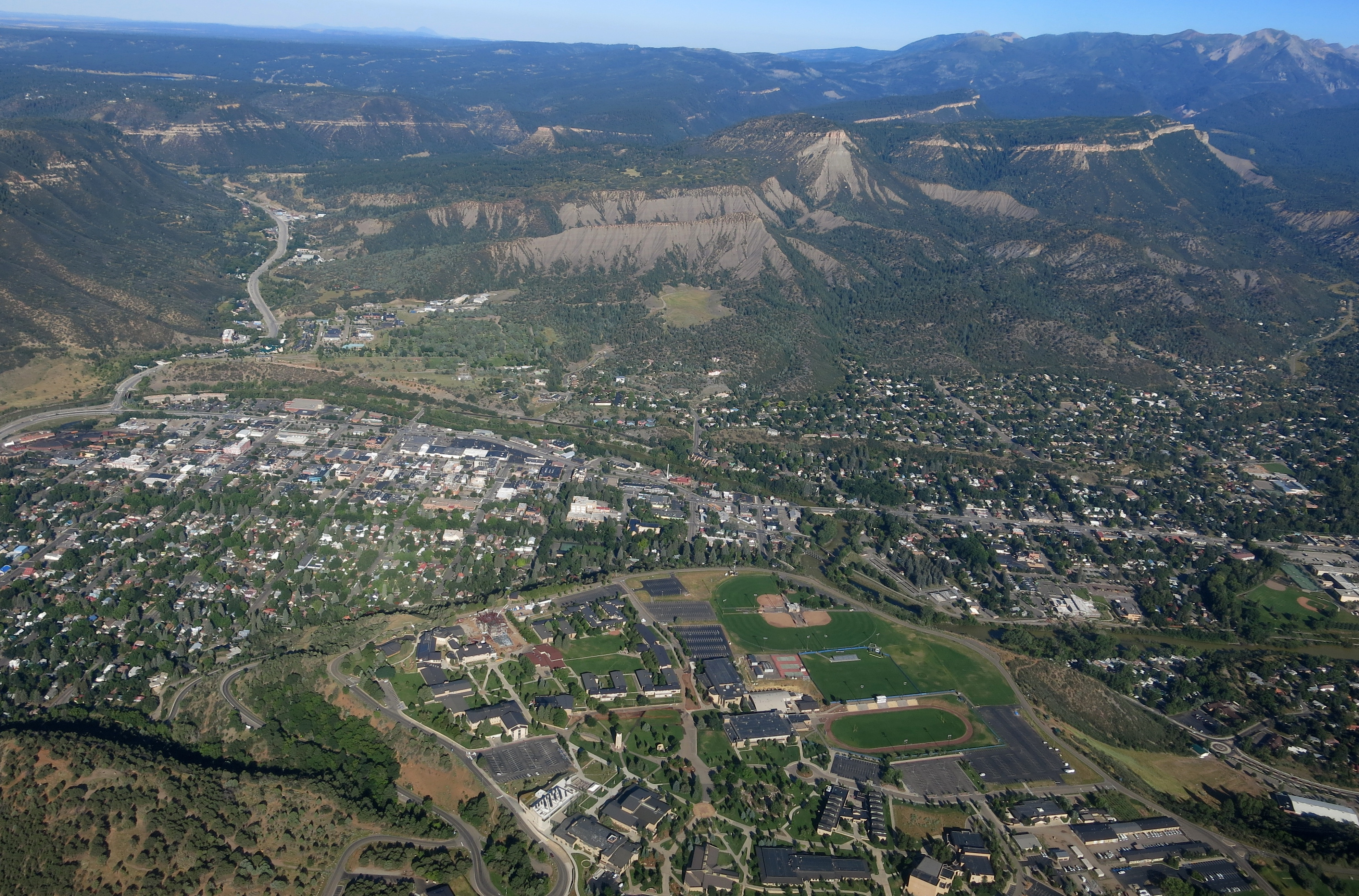 Photo: Gold King Mine, Durango Aerial (Hood)