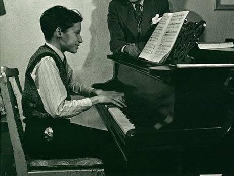 Photo: Young Glenn Gould