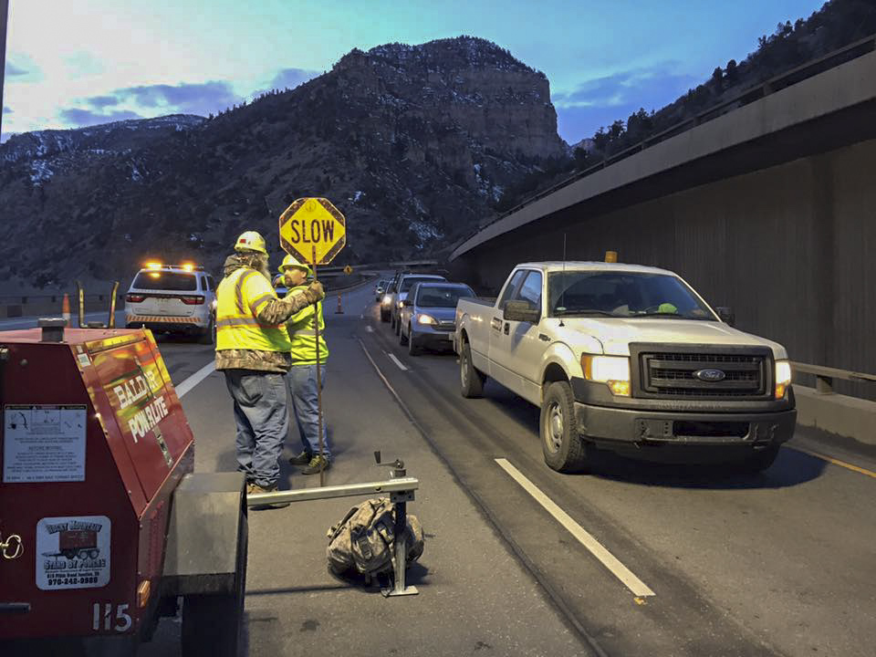 Photo: Glenwood Canyon reopens