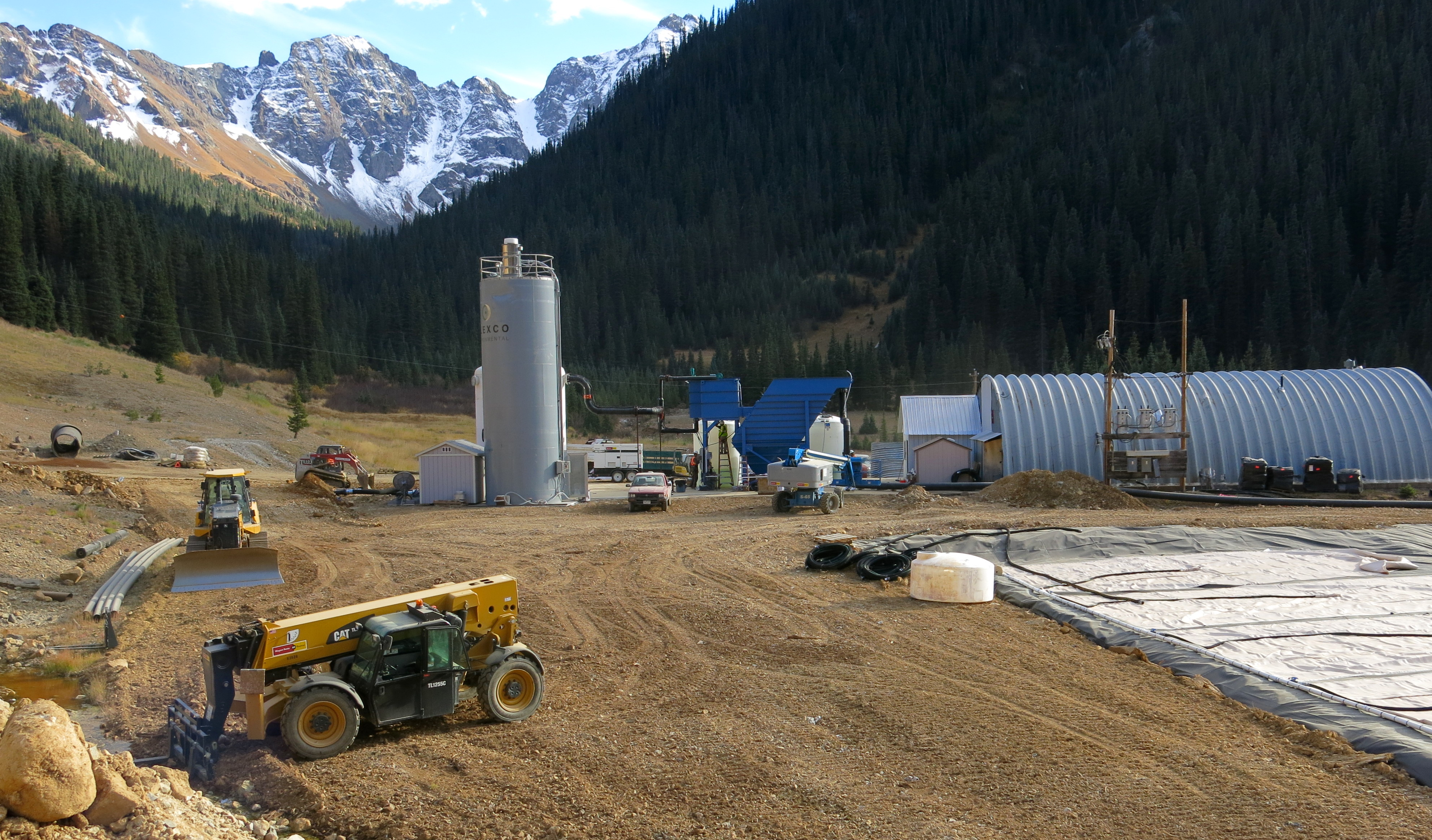 Photo: Gold King Mine Wastewater Treatment Facility Near Silverton