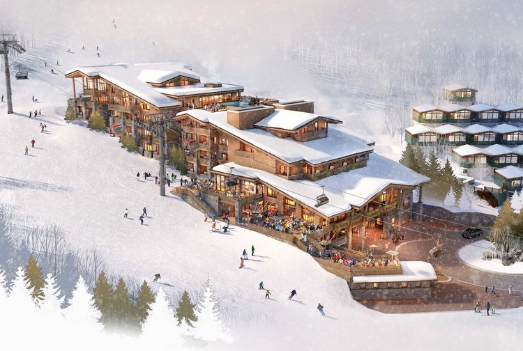 Photo: Aspen Lift 1 Gorsuch Haus Rendering 1