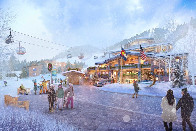 Photo: Aspen Lift 1 Gorsuch Haus Rendering 2