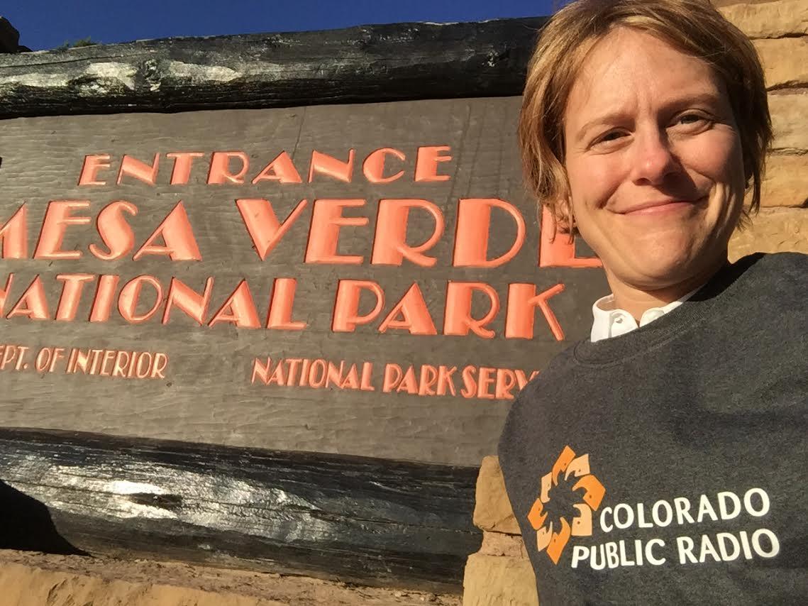Grace Hood Mesa Verde Selfie