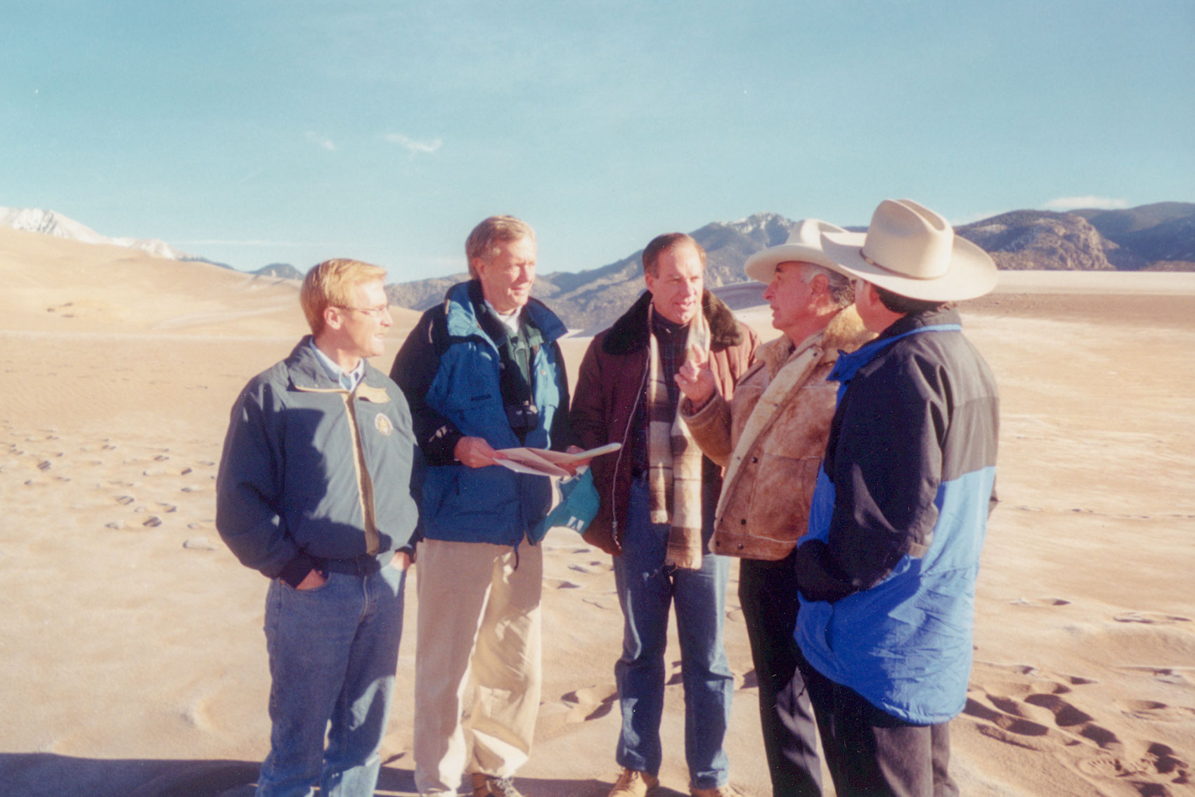 Photo: Drought History 1 | Great Sand Dunes Summit On The Sand - Courtesy