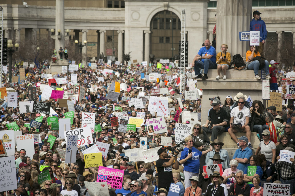 Photo: March For Our Lives Denver Crowds 5 (NM)