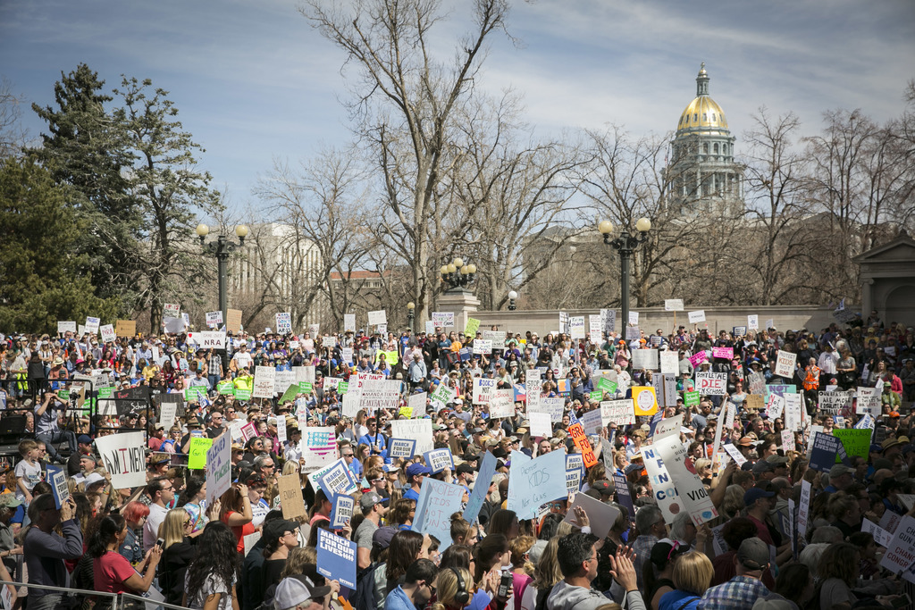 Photo: March For Our Lives Denver Crowds 7 (NM)