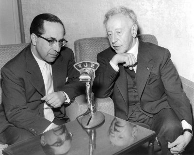 Karl Haas and Artur Rubenstein