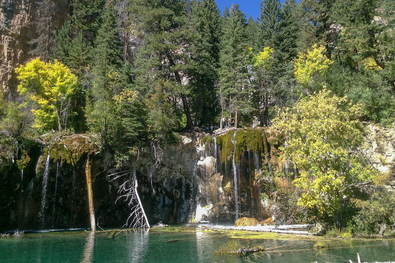 Photo: Hanging Lake Colorado - USDOT Volpe